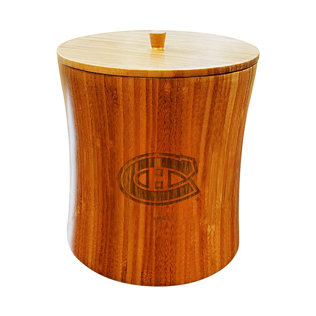 Montreal Canadiens Bamboo Ice Bucket
