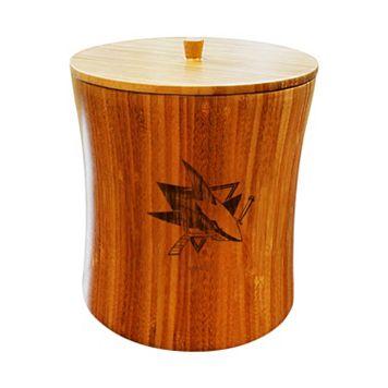 San Jose Sharks Bamboo Ice Bucket