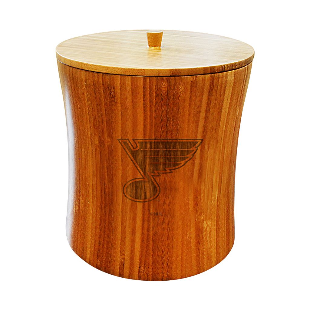 St. Louis Blues Bamboo Ice Bucket