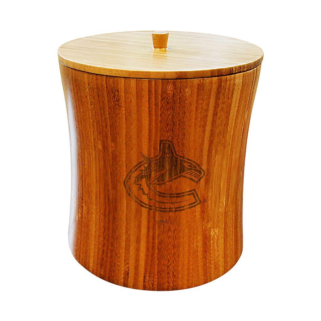 Vancouver Canucks Bamboo Ice Bucket