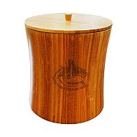 Vancouver Canucks Bamboo Ice Bucket
