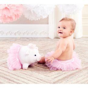 Baby Aspen Princess Plush Pig & Tutu Bloomers Gift Set