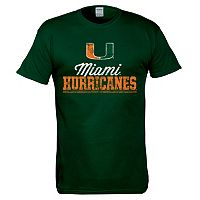 Men's Miami Hurricanes Right Stack Tee