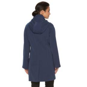 Women's Towne by London Fog Hooded Rain Jacket