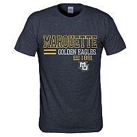 Men's Marquette Golden Eagles Right Stack Tee