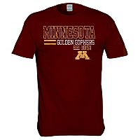 Men's Minnesota Golden Gophers Right Stack Tee