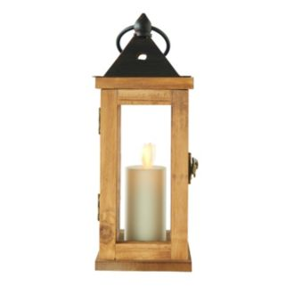 Matchless Candle Co. Moving Flame® 9.6'' Flameless LED Votive Candle Lantern