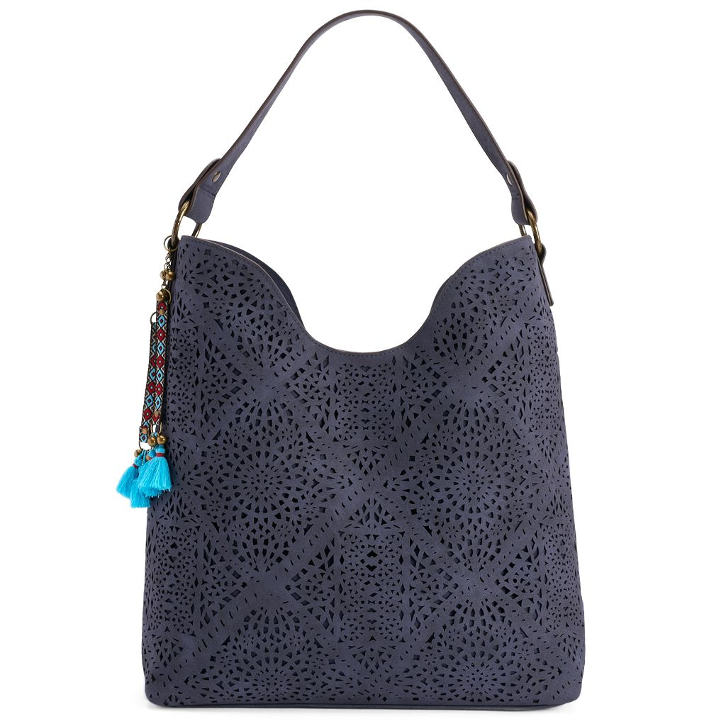 SONOMA Goods for Life™ Rosa Laser-Cut Hobo