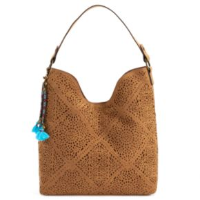 SONOMA Goods for Life? Rosa Laser-Cut Hobo