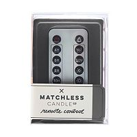 Matchless Candle Co. Flameless LED Candle Remote