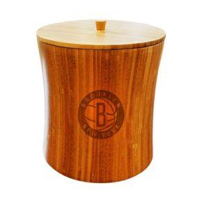 Brooklyn Nets Bamboo Ice Bucket
