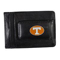Tennessee Volunteers Black Leather Cash & Card Holder