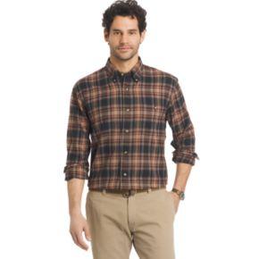 Men's Arrow Classic-Fit Plaid Flannel Button-Down Shirt