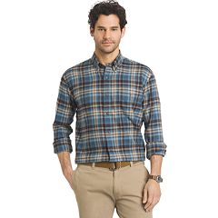 Men's Arrow Classic-Fit Plaid Flannel Button-Down Shirt