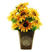 Designs by Lauren Artificial Sunflower Arrangement