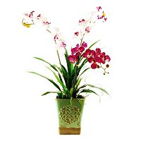 Designs by Lauren Artificial Orchid Trio Arrangement