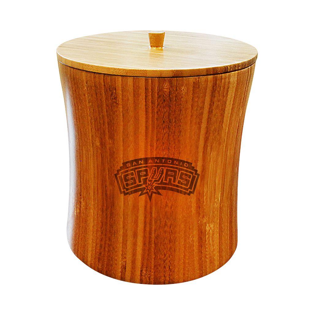 San Antonio Spurs Bamboo Ice Bucket