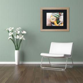 Trademark Fine Art Autumn Gourds Matted Framed Wall Art