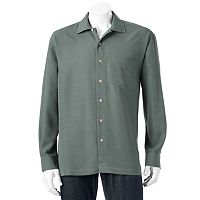 Men's Batik Bay Solid Easy-Care Casual Button-Down Shirt