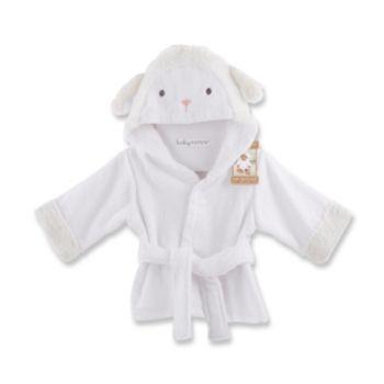 Baby Aspen Love You Lamb Hooded Robe