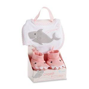 Baby Aspen Chomp & Stop Bib & Booties Gift Set