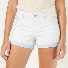 Women's LC Lauren Conrad Frayed Jean Shorts