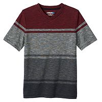 Boys 8-20 Tony Hawk Striped V-Neck Tee