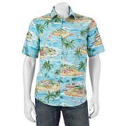 Men's Batik Bay Modern-Fit Tropical Casual Button-Down Shirt