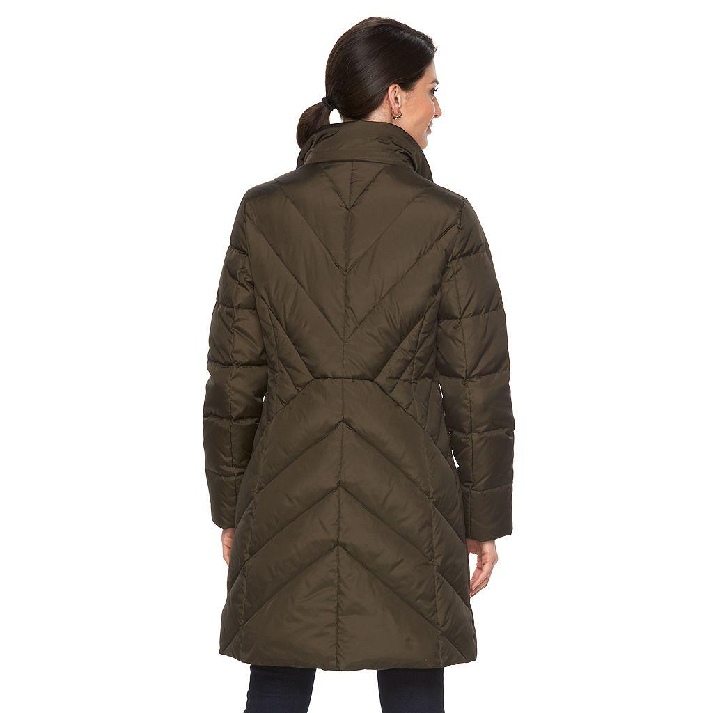 Women's Towne by London Fog Missy Hooded Puffer Jacket