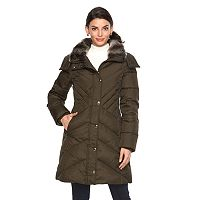 Women's Towne by London Fog Missy Hooded Puffer Jacket