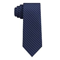 Men's Van Heusen Patterned Skinny Tie and Tie Bar Set