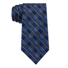 Men's Van Heusen Patterned Skinny Tie and Tie Bar Set