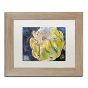 Trademark Fine Art Cactus Fruit Birch Finish Framed Wall Art
