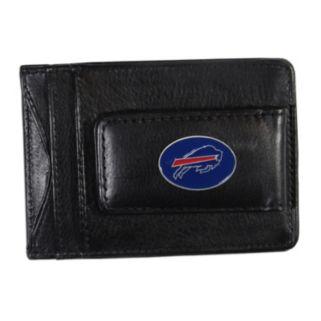 Buffalo Bills Black Leather Cash & Card Holder