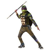 Kids Teenage Mutant Ninja Turtles Movie 2: Donatello Deluxe Muscle Costume