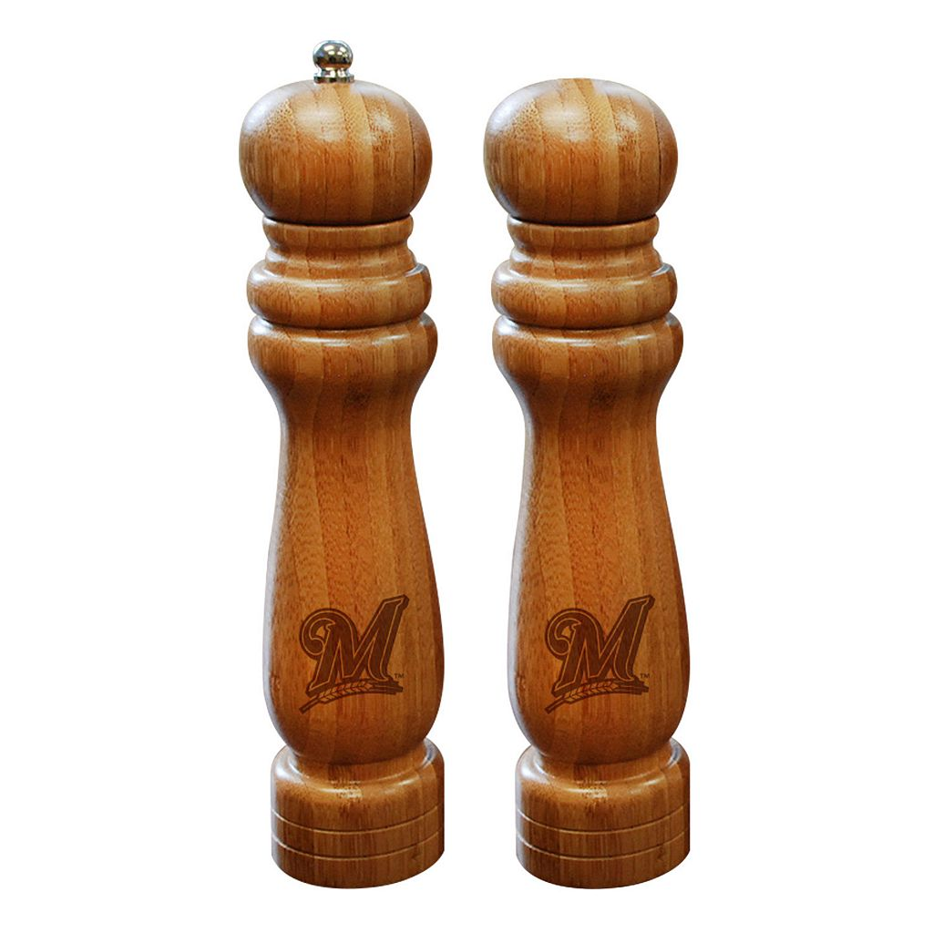 Milwaukee Brewers Salt Shaker & Pepper Mill Set