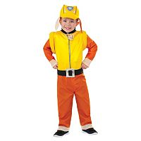 Toddler Paw Patrol Rubble Costume