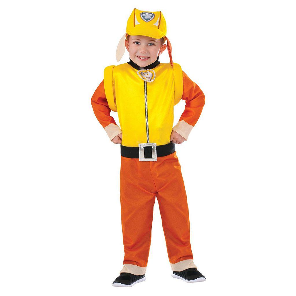 Kids Paw Patrol Rubble Costume