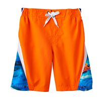 Boys 4-7 ZeroXposur Sea Creatures Swim Trunks