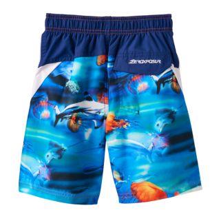 Boys 4-7 ZeroXposur Sea Creatures Swim Trunks