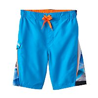 Boys 4-7 ZeroXposur Abstract Print Swim Trunks