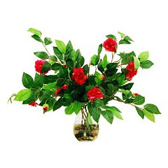 Designs by Lauren Artificial Camellia Arrangement