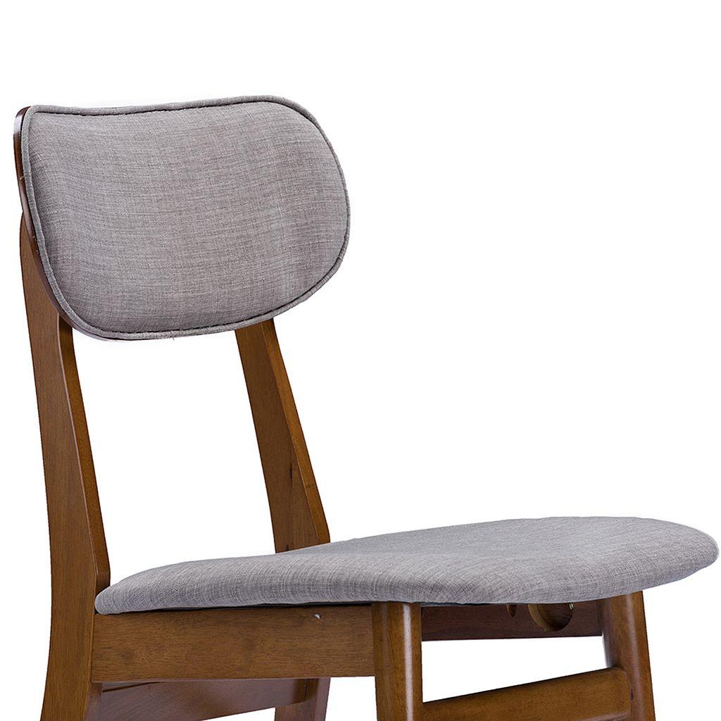 Baxton Studio Sacramento Dining Chair 2-piece Set