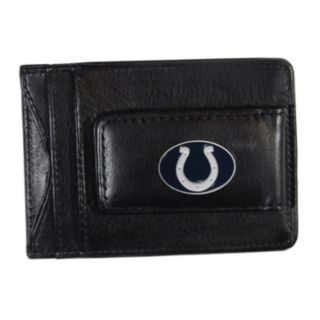 Indianapolis Colts Black Leather Cash & Card Holder