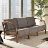 Baxton Studio Velda Sofa