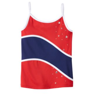 Girls 4-14 Jacques Moret Gym Champ Stars Camisole Tank Top