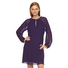 Women's Expo Beaded Shift Dress
