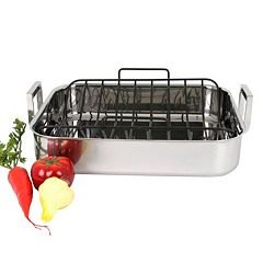 Oneida Tri-Ply 17-in. Stainless Steel Roaster