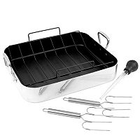 Oneida 5-pc. Nonstick Aluminum Roaster Set