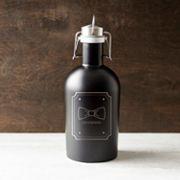 Cathy's Concepts 'Groomsman' Bowtie 64-oz. Stainless Steel Craft Beer Growler